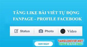 tăng like facebook, auto hack like facebook, hách like fb